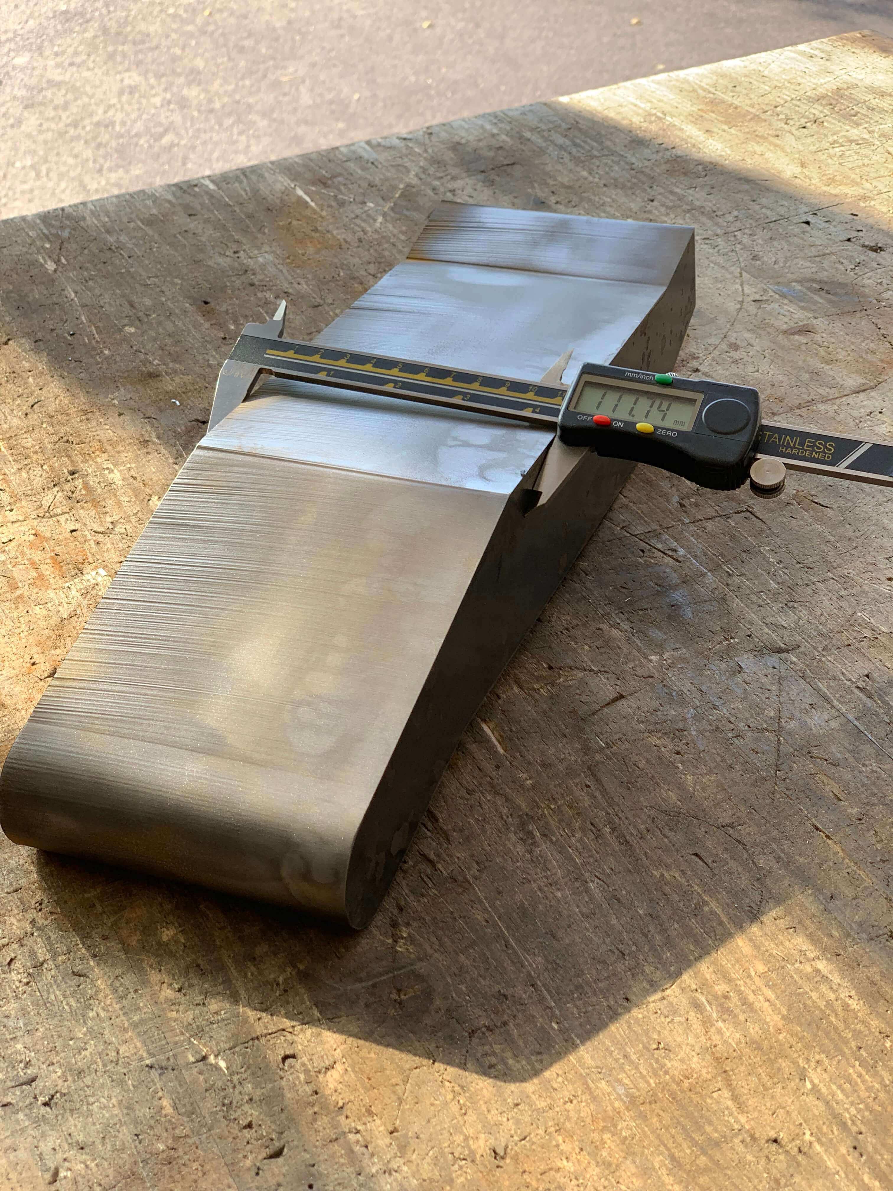 Decoupe de fortes épaisseurs de métaux