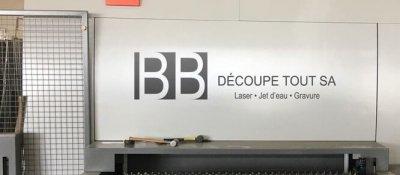 Découpeuse laser fibre BB découpe Tout